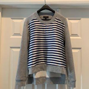 Burberry Gray Sweatshirt